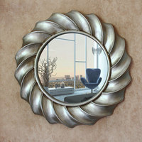European American Style Modern Simple Round Wall hanging Bathroom Decorative Mirrors