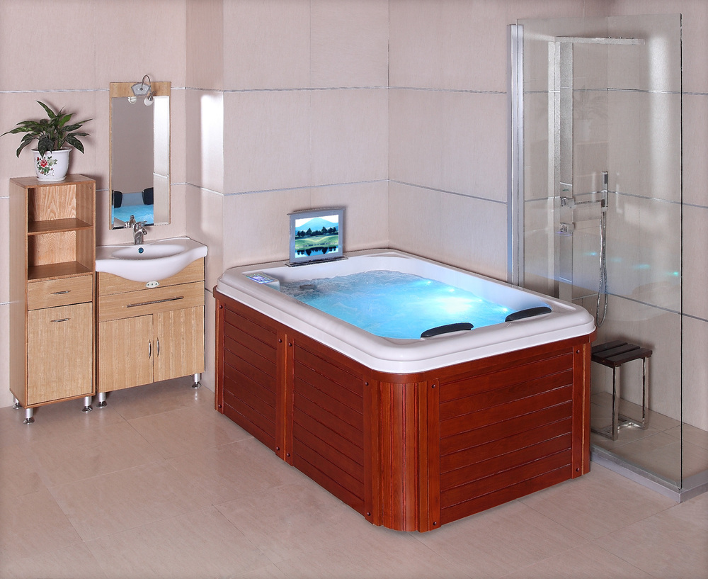 Hs spa291y 2 person mini indoor hot tub 2 person indoor for Hot tub types
