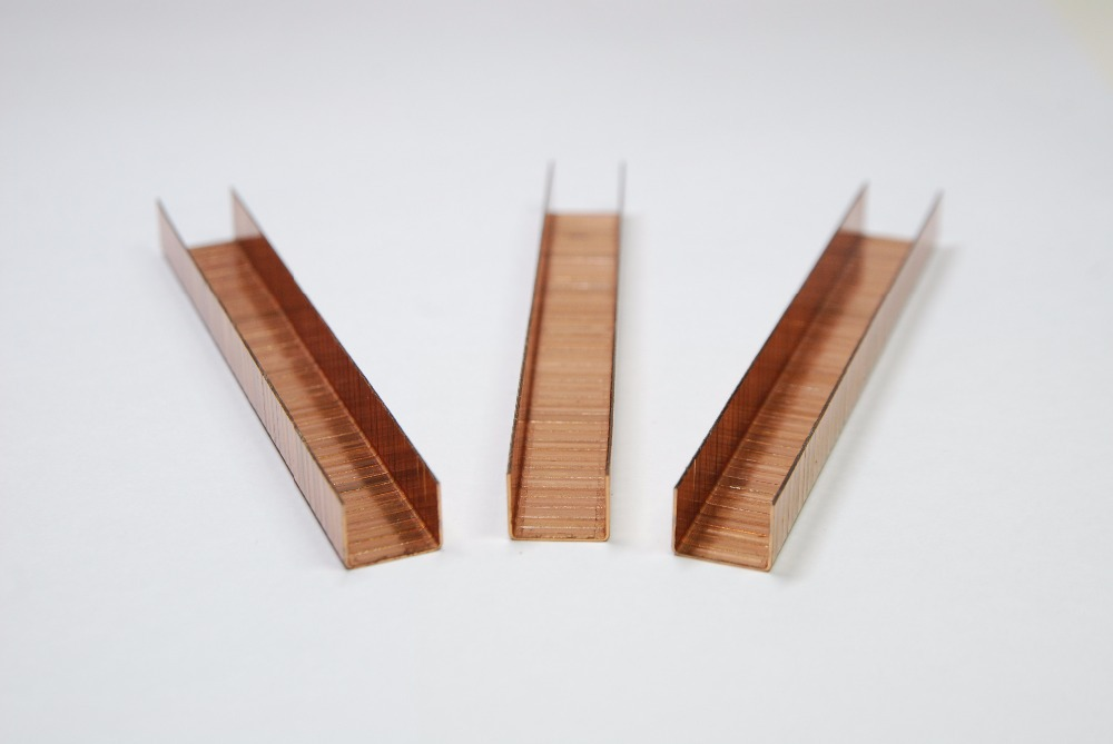 SXHL manufacturer direct supply SB series carton closing copper staple pins
