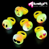 Party faver type Mini Led Flashing Emoji Rings Emoji Emoticon led finger ring