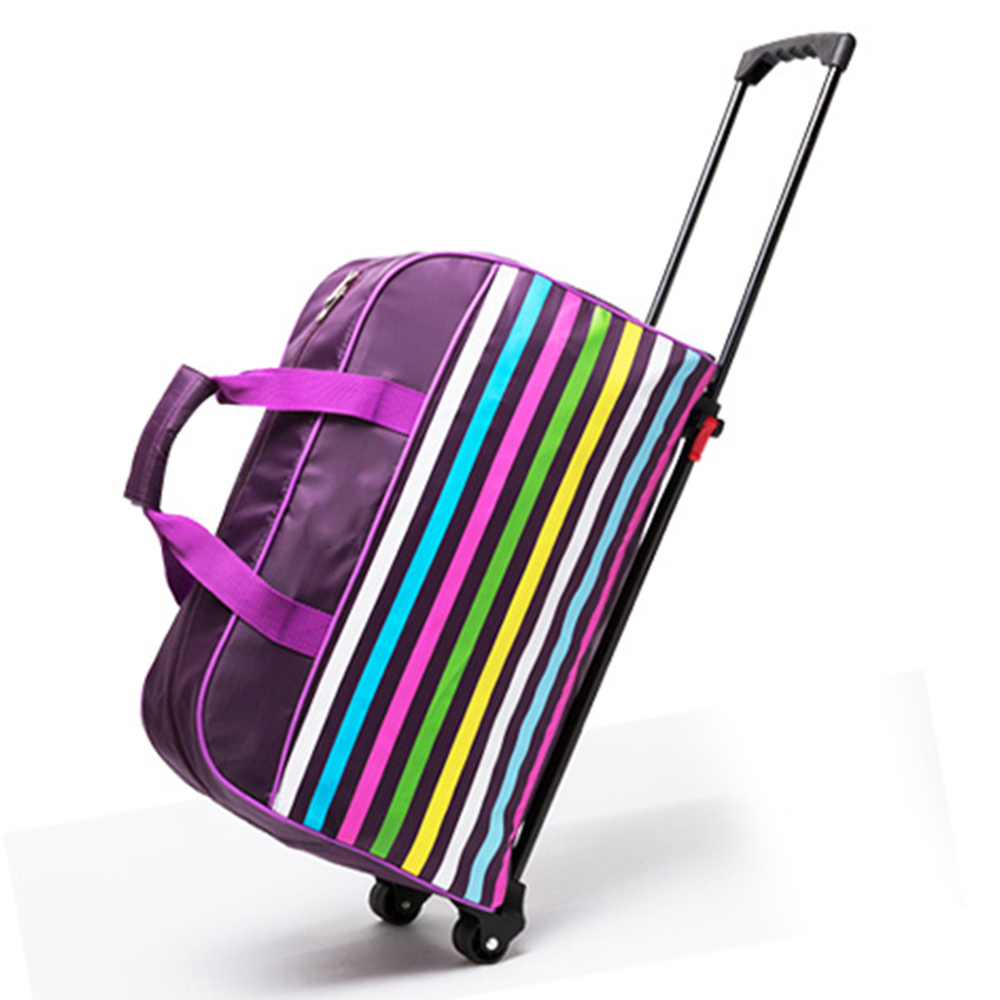 2017 New design sizes suitable travel trolley bag easy trip