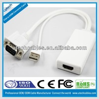VGA to HDMI Converter cable with audio