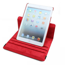 new arrival case 2014 360 degree rotating leather case for ipad air