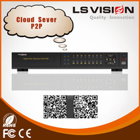 LS VISION security camera cctv dvr made in china 16 channel cctv system