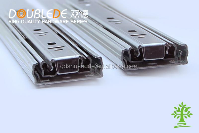 Furniture Hardware Floor Mount Slide Rail Roller Drawer