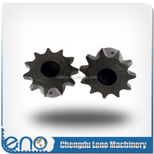 Power transmission small sprockets for roller chain