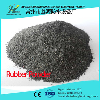 Raw Material Rubber Powder for Waterproof Membrane