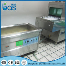 High precision easy cleaner stainless steel ultrasonic machine for dish washing BSC130+BS220
