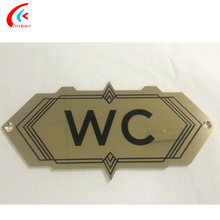 OEM Customized Engrave Numbers Metal/Stainless Steel office door plates signs