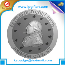 Customize high quality antique challenge coins with soft enamel