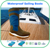 Superlative Breathable Membrane Waterproof Leather Sailing Boots