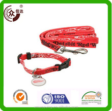 Customized dog collar and leash for training or walking