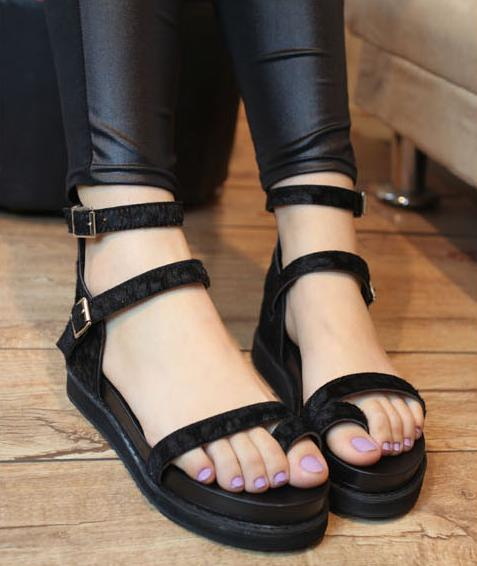 New Sexy Women Sandals Summer Women Shoes Cheap Ankle Strap Sandals 2016