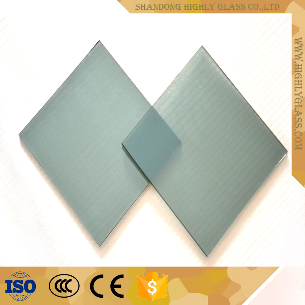 Solar building tempered reflective glass for curtain walls