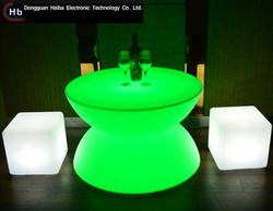 China Supplier led glowing bar counter made in PRC
