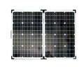 Quality 100w Folding Solar Panel Kit with Controller for Caravan Boat Battery Charger