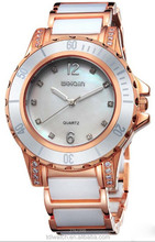 2015 new products rose gold color stainless steel watch for men