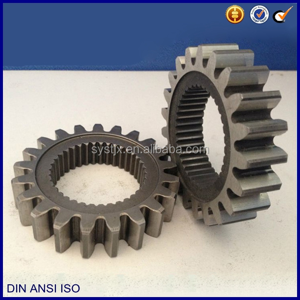 Heat treatment case harden spur pnion gear
