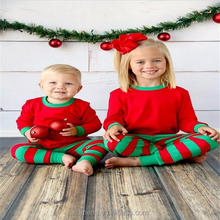 100% cotton kids winter pajamas
