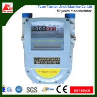 G1.6 diaphragm IC card gas meter with Flow range 2.5m3/h made in factory