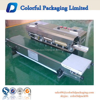 plastic packaging sealing machine