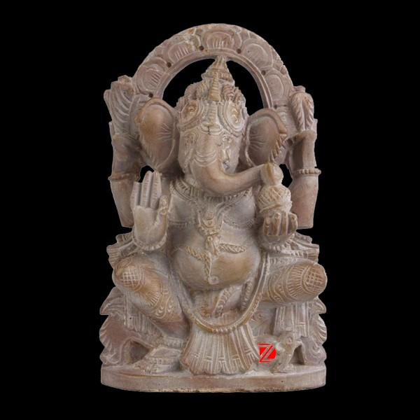 stone carving ganesha statues