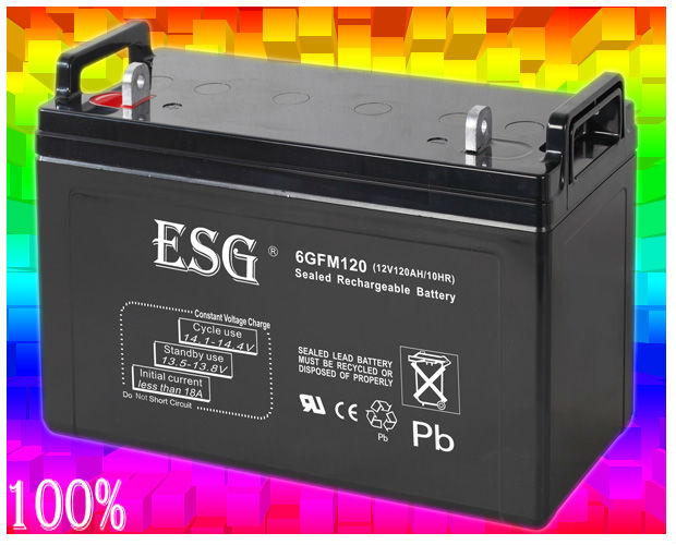 12v120AH dry cell batteries