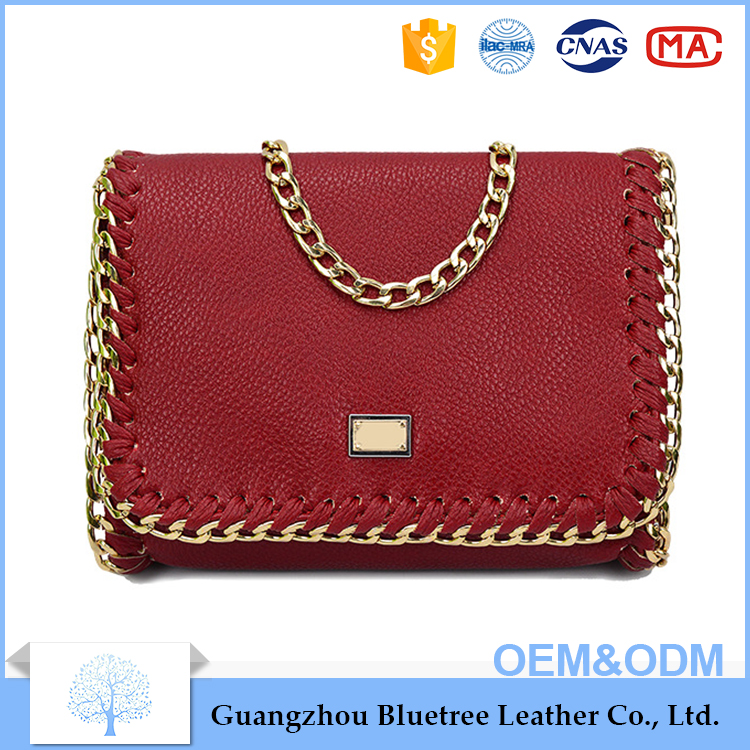 women bag handbag with metal sling fashion ladies handbag online supplier handbag manufacture China