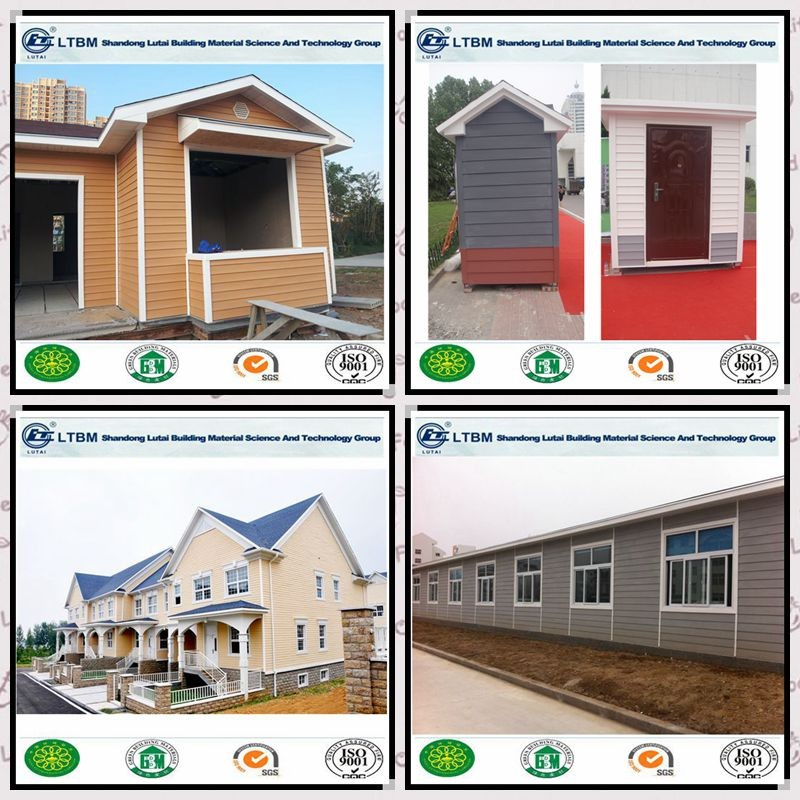 Heat insulation exterior wood grain siding wall panel for for Fire resistant house siding material hardboard