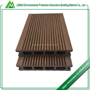 Fine workmanship wood composite decking wpc decking board composite decking board