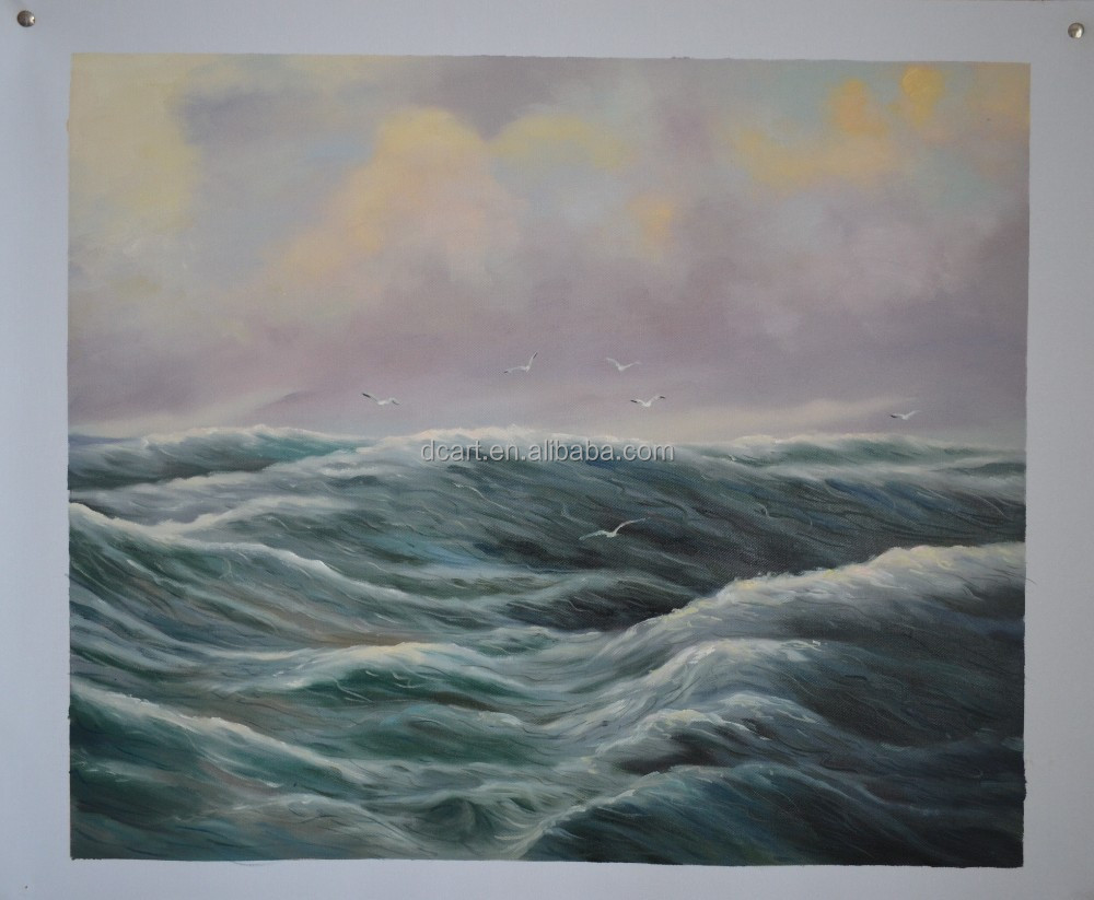 Vast ocean wave painting on canvas wholesale fine art
