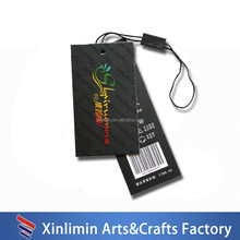 2016 hot sale newest custom high quality waterproof hang tag