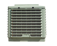 china 18000m3/h window mounted cooling pad water air cooler