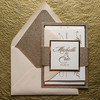 Gorgeous Wedding Invitations Suite Letterpress Wedding
