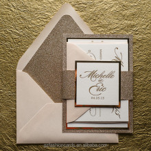 Gorgeous Wedding Invitations Suite, Letterpress Wedding Invitations