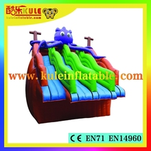 Octopus water slide for water park/giant inflatable water slide/cheap inflatable water slides