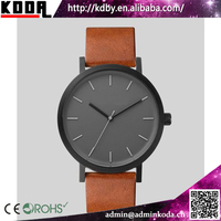 Big Dial Simple Design Mens Gift The Horse Stainless Steel Watch