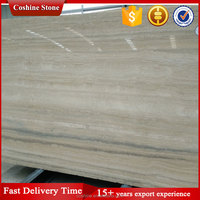 High polished degree silver travertine slab for sale