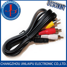 Jinlaipu power amplifier cable copper pvc jacket rca Sold On Alibaba