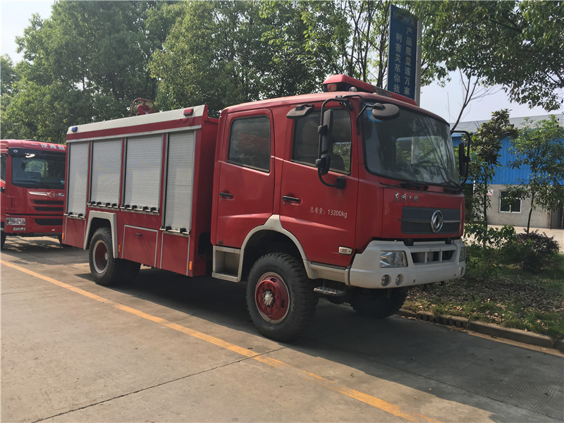4x2 kingrun 5t size of fire truck