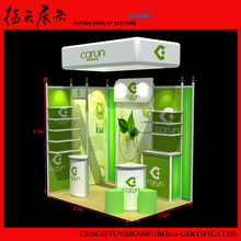 Personality Movable New Shanghai Exhibition Booth Design and Building