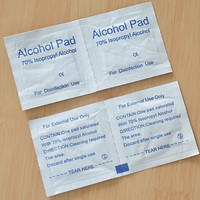 Chinese manufacture zhejiang OEM factory medical cleaning alcohol wipes