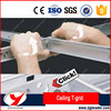 China supplier CE suspended ceiling t grid for PVC gypsum board