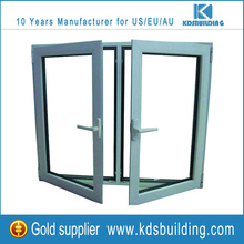 Latest aluminum cheap T Mullion casement window designs for home