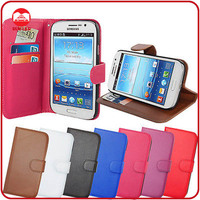 RF Manufacturer Wholesale Premium Leather Stand Wallet Flip Cover for Samsung Galaxy Grand I9082 Case