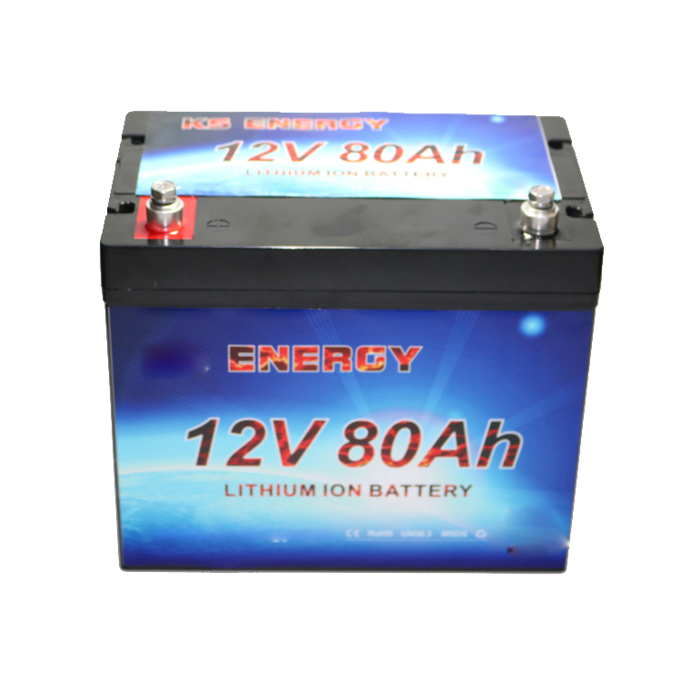 Lifepo4 lithium battery Rechargeable Li-ion battery 12V 80Ah Lithiumion Battery Pack OEM accepted