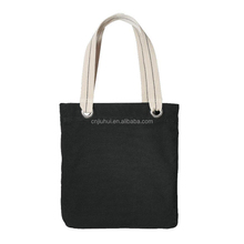 Fashion Style Cotton Material Daily Shopping Bag Road Bag