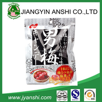 Hot sell dried fruit recycled plastic zipper bag with clear window