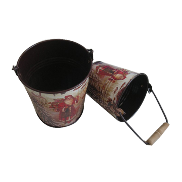 High quality bucket cosmetic package gift box