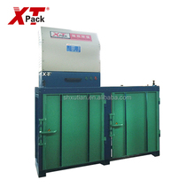 Vertical Twin Chamber Waste Cotton Baling Machine